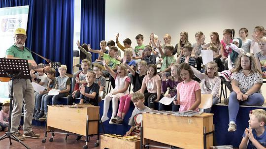 Schulanfangsaktion 2017 in Aldekerk